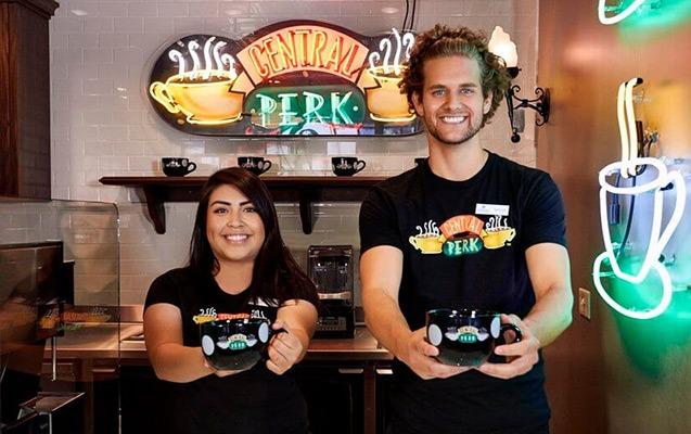 Central Perk Café Staff
