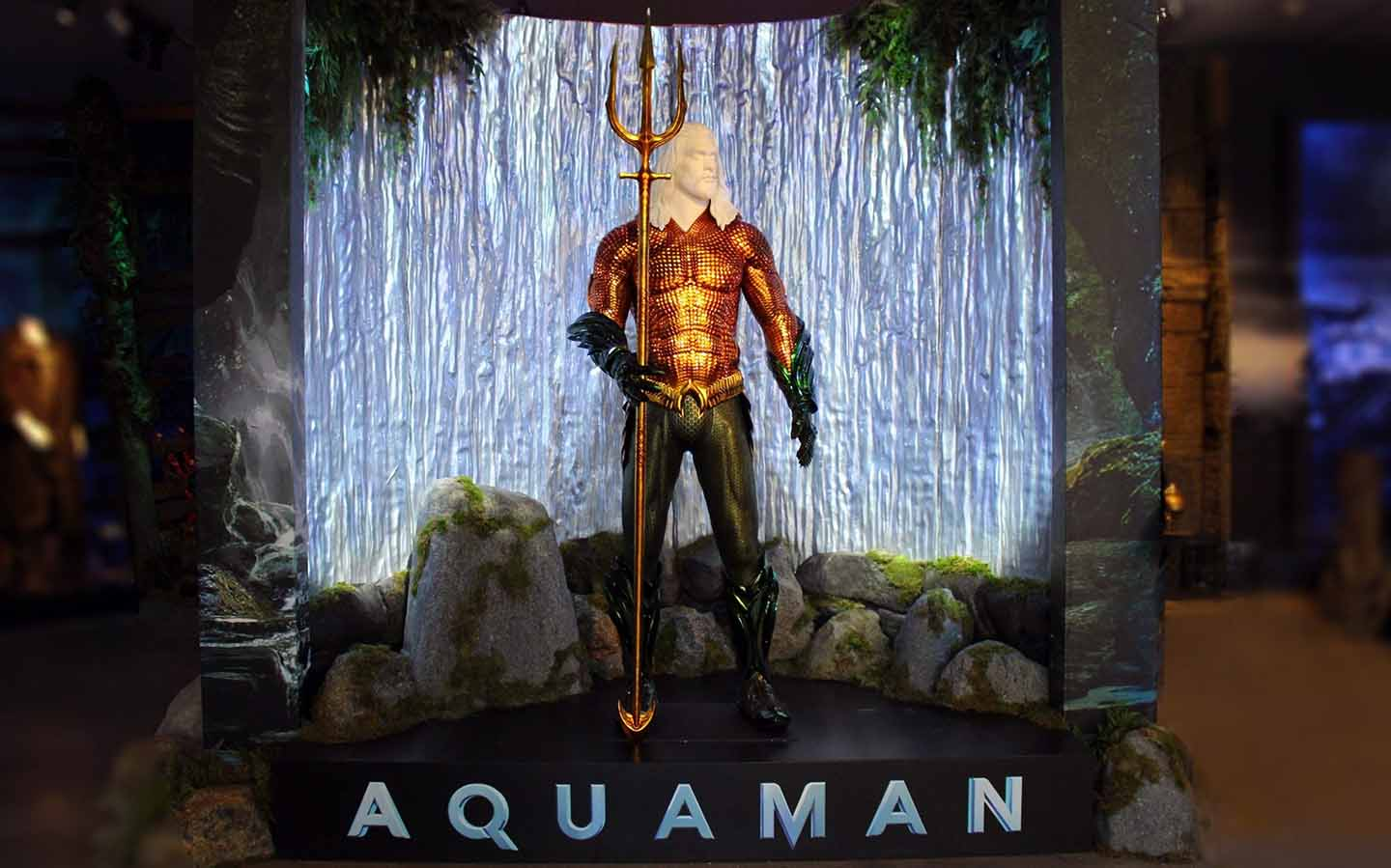 New Aquaman Exhibit Now Open