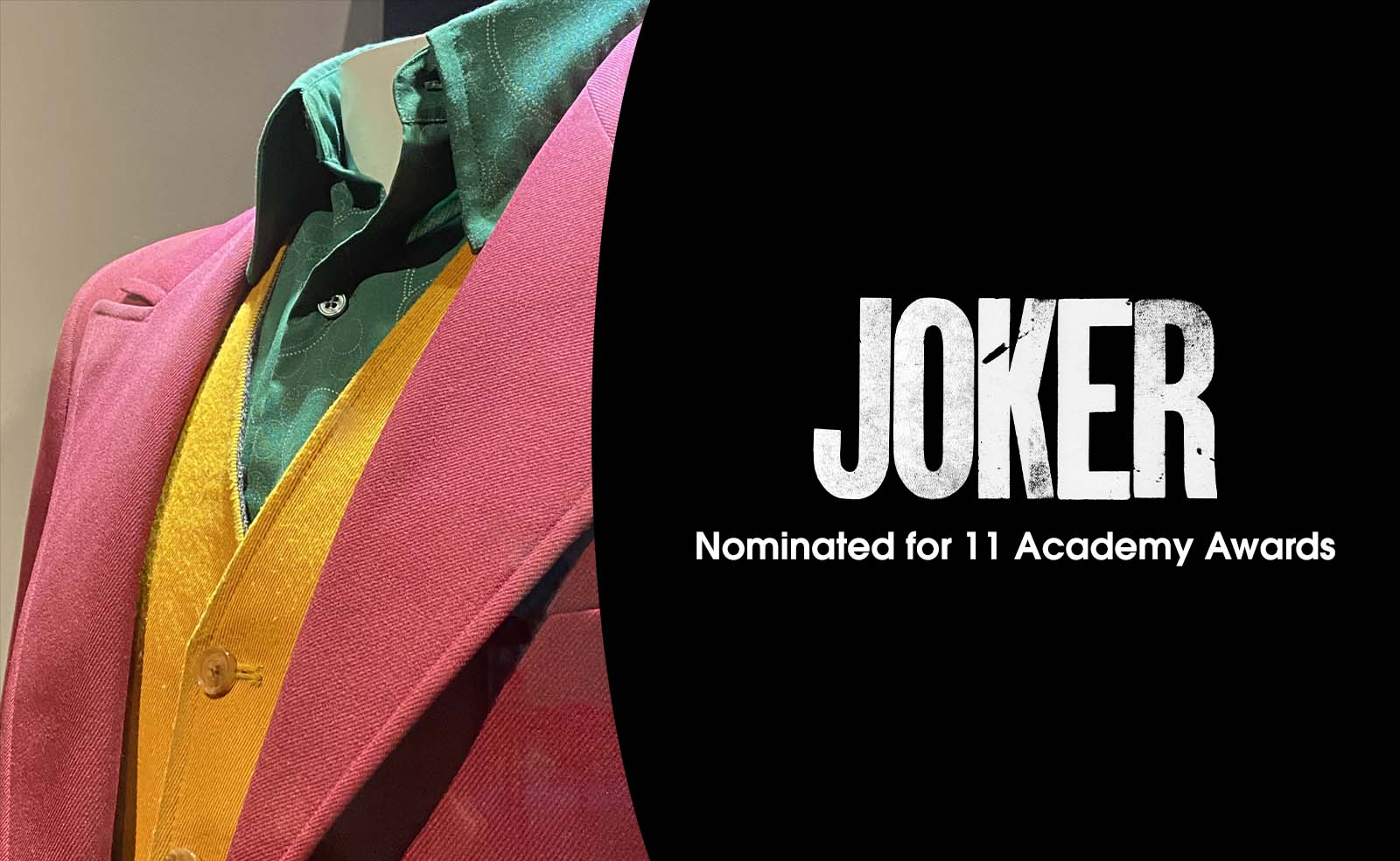 See the Joker Costume Worn by Joaquin Phoenix
