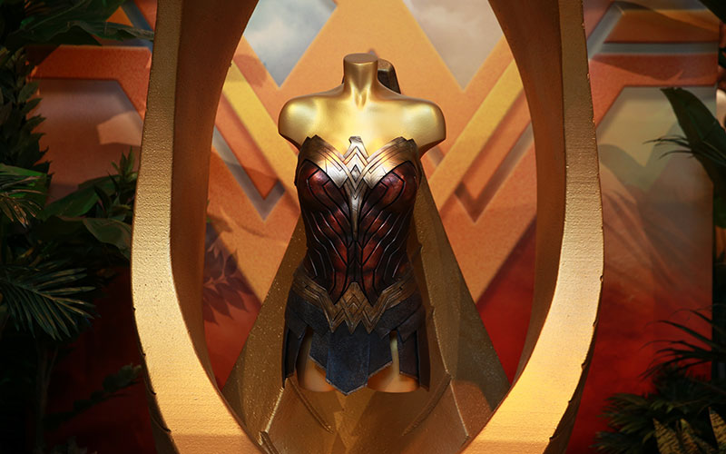 Wonder Woman's Costume